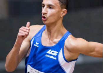 Ricky Petrucciani läuft U20 Rekord über 60m!