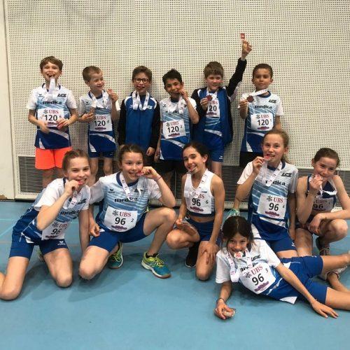 1x Silber und 1x Bronze am UBS Kids Cup Team Final!