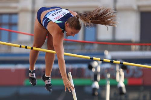 Angelica Moser springt 4,64m bei Athletissima Lausanne!