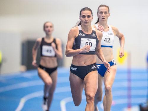 Agne Serksniené läuft Landesrekord!