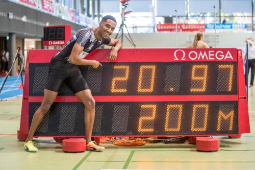 Hallen SM 2. Tag – Reais läuft 200m Schweizerrekord