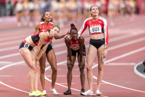OS Tokyo – 4x400m Frauenstaffel brilliert mit Schweizerrekord!
